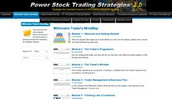 A consistent daily options trading strategy for volatile stocks